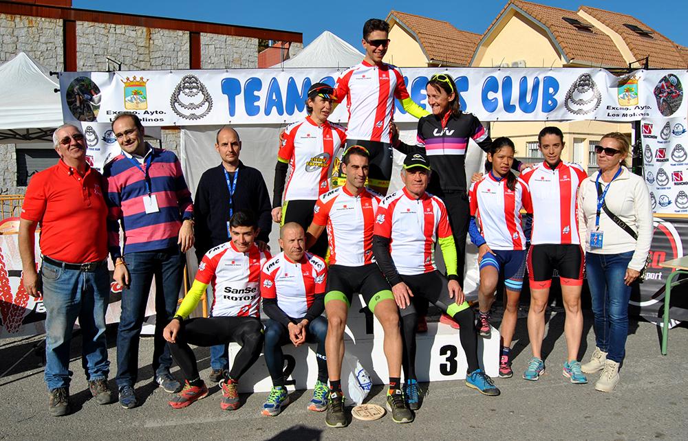 Clasificaciones ciclocross Los Molinos 2017