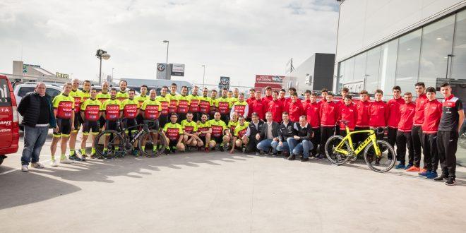Presentados los equipos junior y máster Salchi – Iberauto