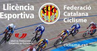 Precio licencia ciclismo Cataluña 2018