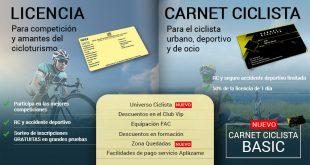 Precio licencia ciclismo Andalucía 2018
