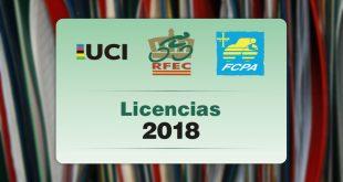 precio licencia ciclismo Asturias 2018