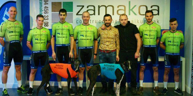 Presentación del Zamakoa Construcciones – Zona Bike