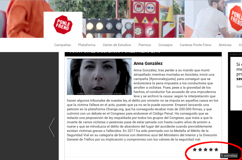 vota Anna González