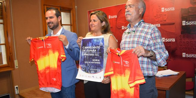 Presentación Campeonato España Soria 2018