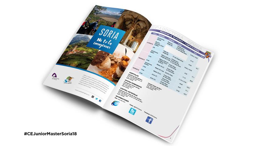 Libro Ruta Campeonato España Soria 2018