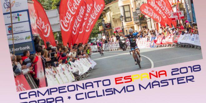 Favoritos Campeonato España Ciclismo Máster 2018