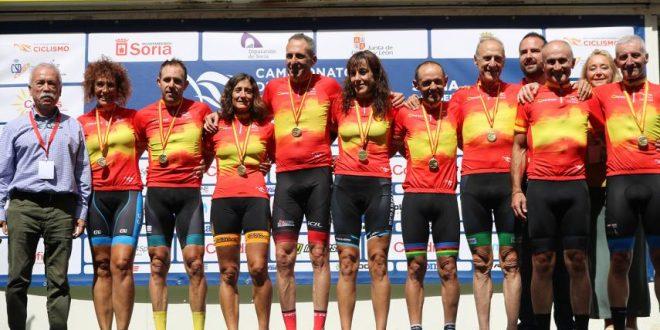 Campeones España Soria 2018